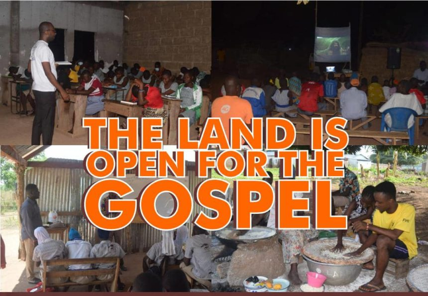 The Land is Open for the Gospel